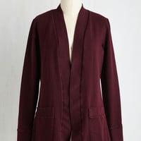 Mid-length Long Sleeve Unknown Expedition Cardigan