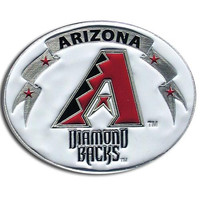 Arizona Diamondbacks MLB Enameled Belt Buckle