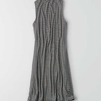 AEO Soft & Sexy Mock Neck Dress, Black