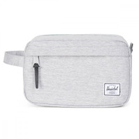 Herschel Supply Co. Light Grey Crosshatch Chapter Toiletry Bag