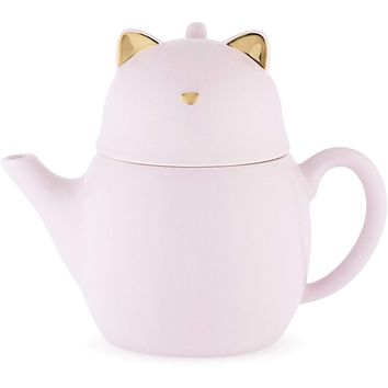 Purrrcy™ Cat Tea for One Set