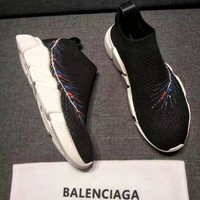 Balenciaga Speed Trainers Stretch Knit Sneakers Style #12 - Best Online Sale