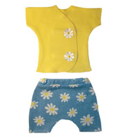 Baby Girls' Delightful Daisies Shorts Set