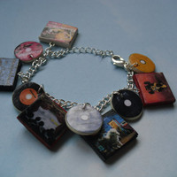 Fall Out  Boy album charm bracelet
