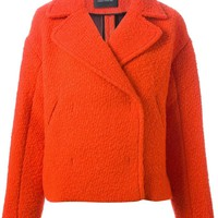 Cedric Charlier cropped coat