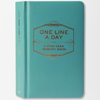 One Line a Day: A Five-Year Memory Book - $25