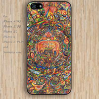 iPhone 5s 6 case cartoon Mandara dream catcher life colorful phone case iphone case,ipod case,samsung galaxy case available plastic rubber case waterproof B558