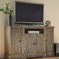 Meadow Casual 60 Inch Console Weathered Gray