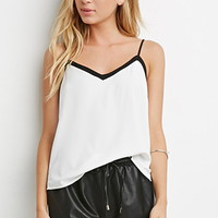 Scalloped Faux Leather Shorts