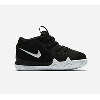 Nike Kyrie 4 TD Black White AA2899 002 Toddler Basketball Shoes