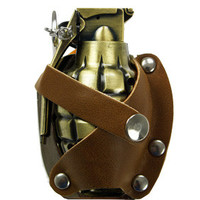 Grenade Leather Lighter Buckle