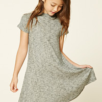 Girls Marled Swing Dress (Kids)