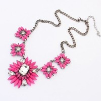 Shiny Jewelry New Arrival Gift Bohemia Floral Pendant Stylish Necklace [6586303879]