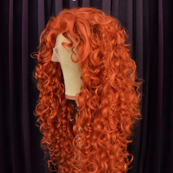 Merida Wig - Theme Park Style by Fairytale Wigs