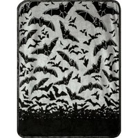 SOURPUSS BAT BLANKET GRAY