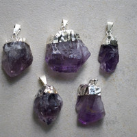 Amethyst Point Pendant/Necklace