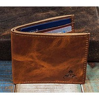 7-Slot Bifold Wallet - The Classic (Horween Dublin Leather)
