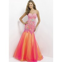 Blush Prom 9722 Strapless Evening Gown