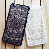 Womens Vintage Lace Floral iPhone 7 7Plus & iPhone 6s 6 Plus Case Cover +Free Gift Box