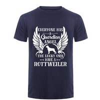 Everyone Has Guardian Angel The Lucky One Have A Rottweiler - Dogs T-shirt
