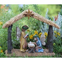 Miniature Fairy Garden Nativity Scene Limited Edition