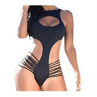 Women Sexy Halter Push Up Swimsuit