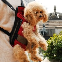 Travel Puppy backpack breathable