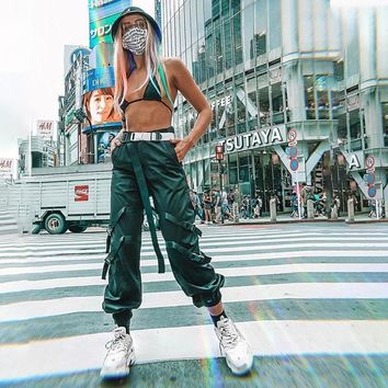 Training Hot Sale Patchwork Fashion Casual Pants [1449743548513]