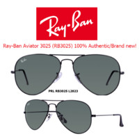 Cheap Ray-Ban Sunglasses RB3025 L2823 Classic Aviator New and 100% Authentic outlet