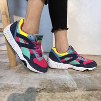 """Puma R698 Block"" Unisex Casual Retro Multicolor Running Shoes Couple Fashion Thick Bottom Sneakers"
