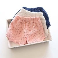 Lace Princess Girl Shorts
