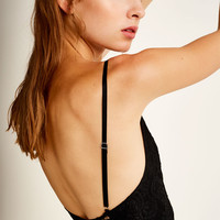 Lace bodysuit with deep neckline - Blouses & shirts - Clothing - Woman - PULL&BEAR United Kingdom