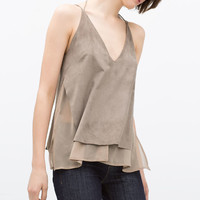 Double layer chain top