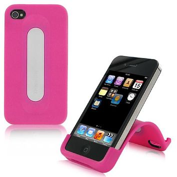 XtremeMac Snap Stand for iPhone 4 & 4S, Bubble Gum Pink