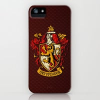 Harry potter Gryffindor team shield apple iPhone 3, 4 4s, 5 5s 5c, iPod & samsung galaxy s4 case cover