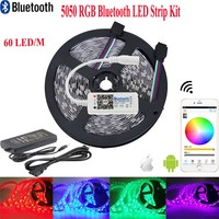 LED Strip RGB Bluetooth Controller LED Strips IP65 Waterproof Lighting