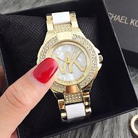 MK Stylish Fashion Designer Watch ON SALE With Thanksgiving Gold I-Fushida-8899