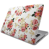 "MacBook Air 13"" Floral Rose Pattern Case Cover"