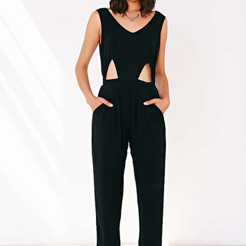 Ecote Gauzy Cutout Jumpsuit - Urban Outfitters