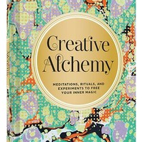 Creative Alchemy Book on Meditation Rituals and Experiments to Free Your Inner Magic by Marlo Johnson