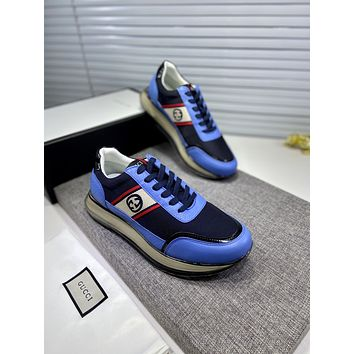 Gucci 2021Men Fashion Boots fashionable Casual leather Breathable Sneakers Running Shoes09160gh