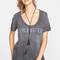 Women's Free People 'It's Tricky' Short Sleeve Pocket Tee,
