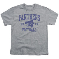 FRIDAY NIGHT LIGHTS/PANTHER ARCH - S/S YOUTH 18/1 - HEATHER - SM - HEATHER -