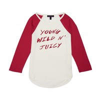 Young Wild N' Juicy Tee by Juicy Couture