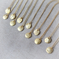Zodiac Sign Necklace / Constellation Signs necklace