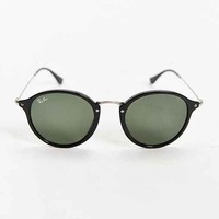 Ray-Ban Havana Spotted Round Sunglasses