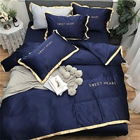 Modern Classy Designed Polyester / Cotton Flat and Fitted Bedsheet