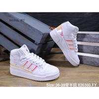 Hot Sale adidas FORUM MID LO women shoes high top sneakers comfortable