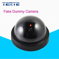 Home CCTV Camera With Flash LED For Dummy Emulational Camera Fake CCTV Camera Dome Indoor Outdoor