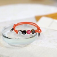 Louis Vuitton Lv Colors Bracelets Beads Orange | M68263 - Best Online Sale